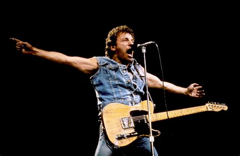 Born To The bruce springsteen born in the usa tour bruce springsteen
