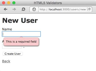 html5 pattern validation for username github amatsuda html5 validators a gem plugin for rails
