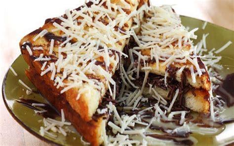 cara membuat roti bakar rasa coklat keju cara membuat roti tawar bakar dengan berbagai varian rasa