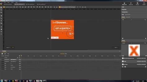 tutorial google web designer banner clickable buttons with a disclaimer in google web designer