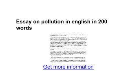 Essay On Environment Pollution by Essay On Diwali In 100 Words Docoments Ojazlink