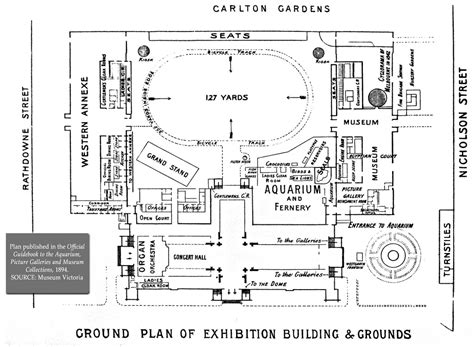 royal albert floor plan royal exhibition building site plan 1894 5 in series as flickr