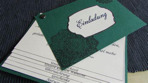 Originelle Hochzeitseinladungen Keine Karten Hochzeit by Diy Hochzeitseinladungen Drei St 228 Dte