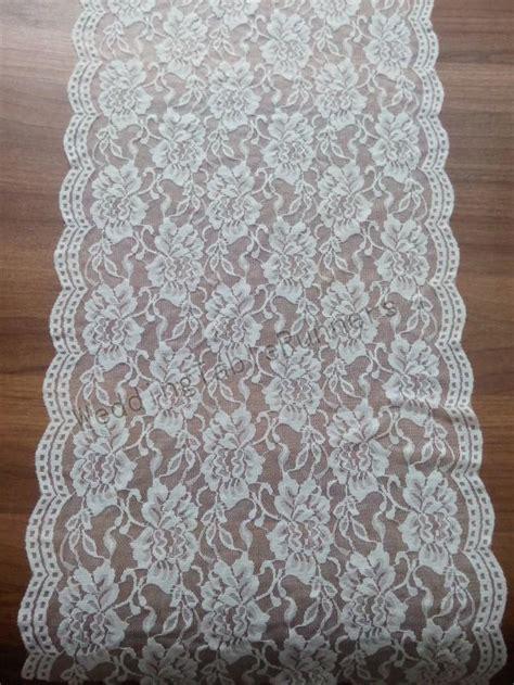 ivory lace table runner ivory lace table runner 12 quot wedding table runner white