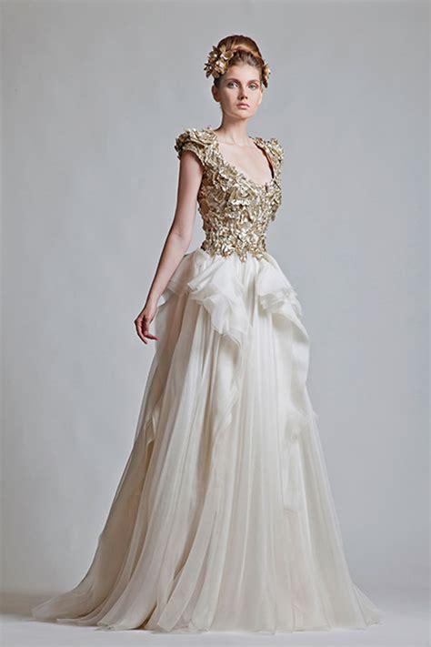 Fall Wedding Dresses by Krikor Jabotian Wedding Dresses For Fall Winter 2013