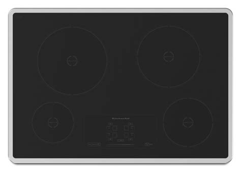 kitchenaid 30 inch induction cooktop kicu500xss kitchenaid 30 quot induction ceramic cooktop stainless steel bray scarff appliance