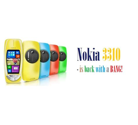 nokia phone with 41mp nokia remakes 3310 with 41mp