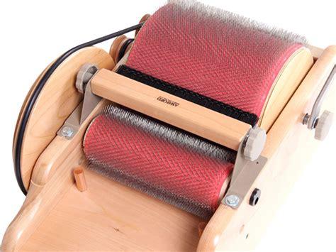 drum carder pattern ashford drum carder packer brush mielke s fiber arts
