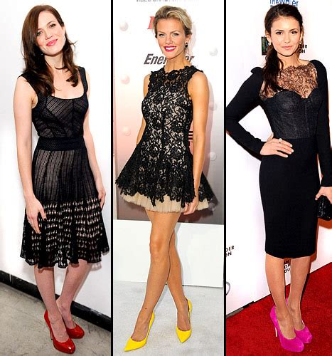 what color shoes should i wear for a black dress at
