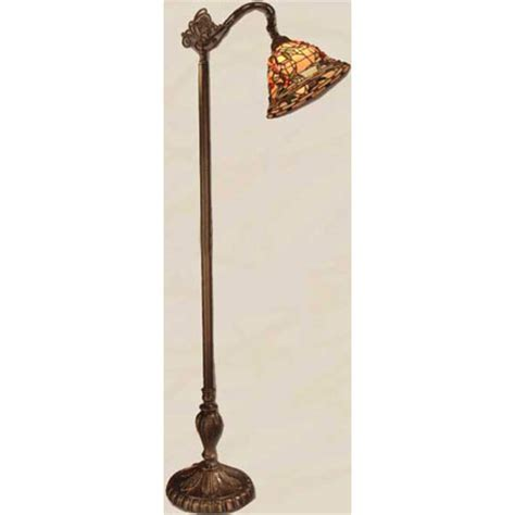 Dale Tiffany TF50181 Tiffany Bochner Bridge Arm Floor Lamp