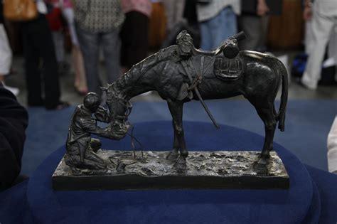 Charles Jourdan 1006 2153s Original charles schreyvogel bronze sculpture ca 1903 antiques