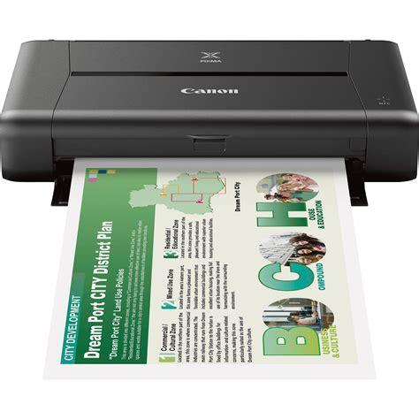 canon mobile printer canon pixma ip110 mobile inkjet photo printer 9596b002aa b h