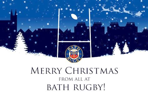 merry christmas  bath rugby
