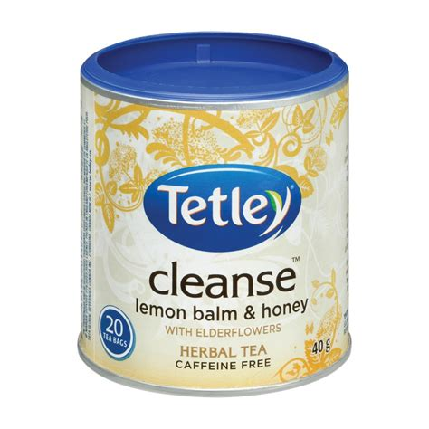 On Site Detox by Tetley Cleanse Herbal Tea Lemon Balm Honey With