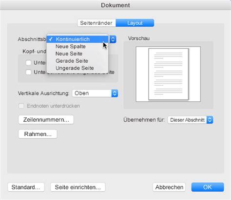 Word Vorlage L Schen Mac hinzuf 252 oder l 246 schen einer seite in word f 252 r mac 2011