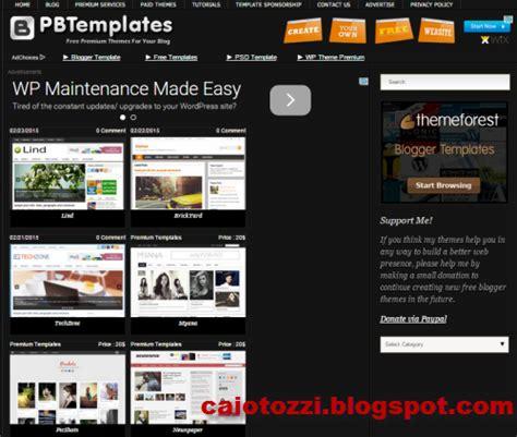 tempat membuat blog gratis situs terpopuler tempat download template keren gratis