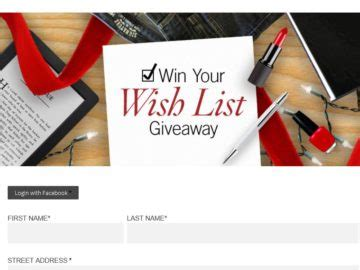 How To Win On Wish Daily Giveaway - the signature by levi strauss co win your wish list giveaway sweepstakes