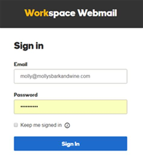 my login log in to my email account workspace email godaddy help us