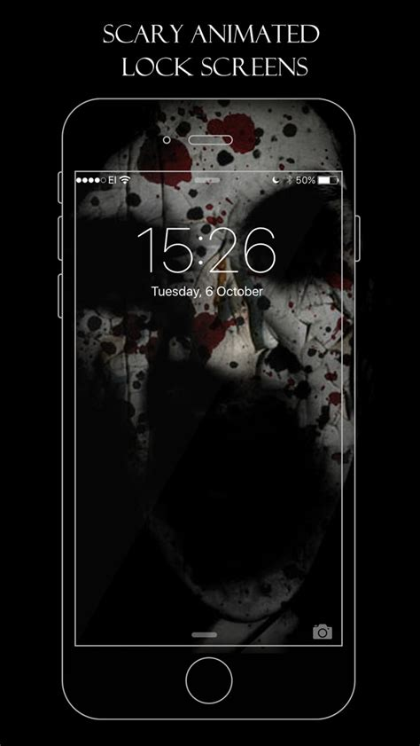 animated themes for iphone 6 app shopper boo live wallpapers scary horror animated