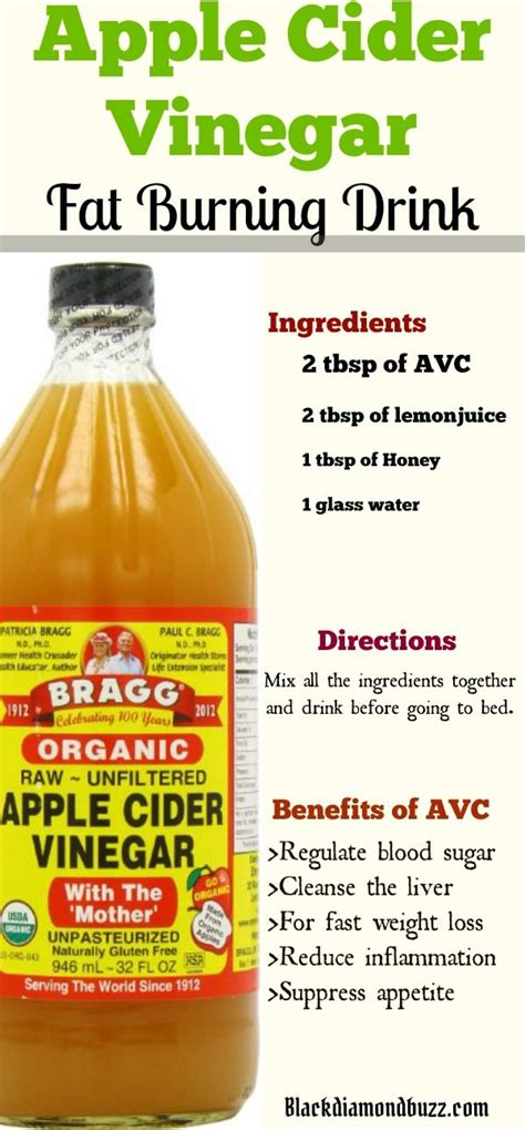 drinking apple juice before bed apple cider vinegar for fast weight loss and benefits