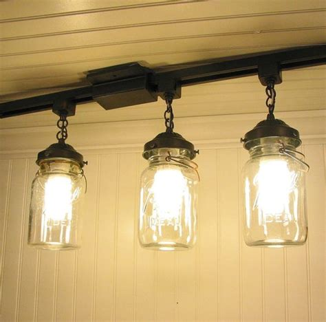 jar track lighting vintage canning jar track lighting this for the