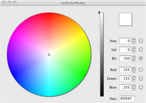 rgb color picker rapplogic arduino led color picker