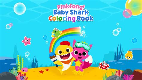 baby shark app app trailer pinkfong baby shark coloring book youtube