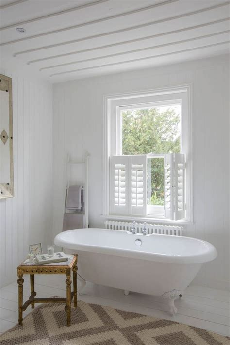 bathroom shutter blinds 3 bathroom window treatment types and 23 ideas shelterness