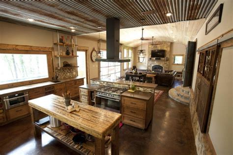 rustic modern kitchen ideas 20 beautiful rustic kitchen designs