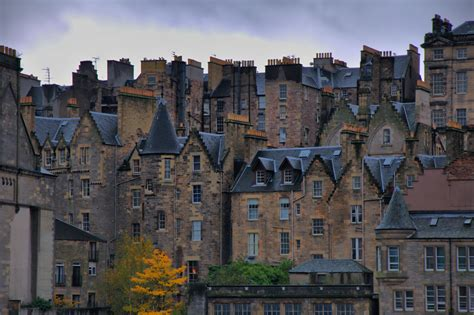 Traditional Home by Old Town Edinburgh Scotland Most Beautiful Places In