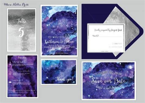 Sky Wedding Invitations