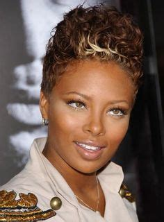 faux hawk good for round faces natural hair on pinterest black women natural hair
