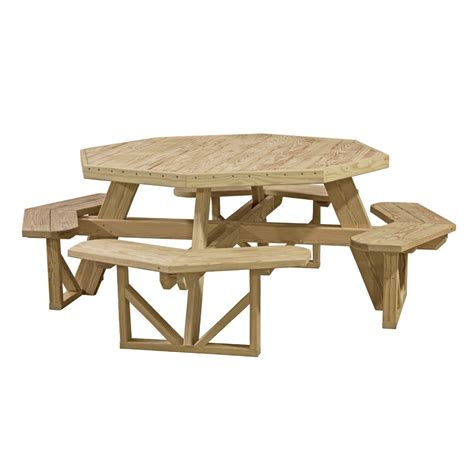 octagon bench octagon picnic table luxcraft
