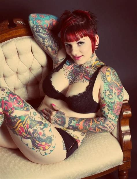 freakshow tattoo tattooedlady freakshow my style