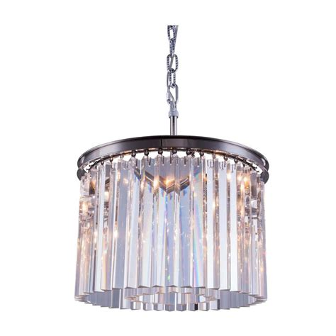 Chandelier Sydney Lighting Sydney 6 Light Polished Nickel Chandelier With Clear 1208d20pn Rc The