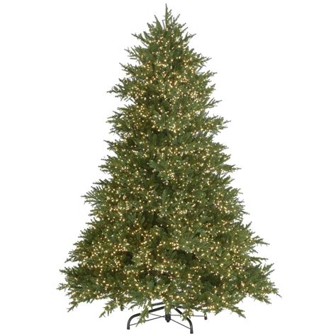 martha stewart living 7 5 ft pre lit emperor fir with