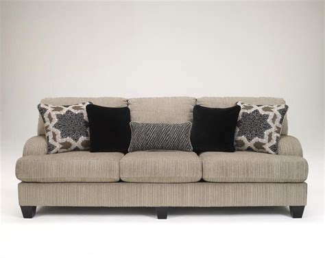 ashley grey sofa ashley wynnmere isle platinum stone beige gray