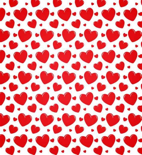 pattern background hearts transparent heart seamless vector pattern vector patterns