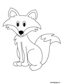 fox coloring pages fox coloring page animals coloring black