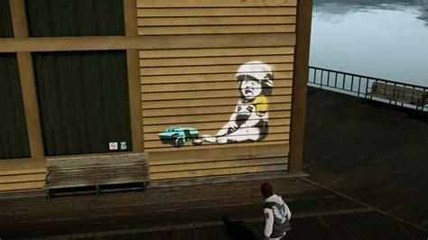 infamous  son  good karma stencil art locations