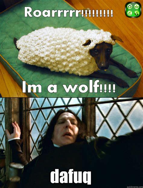 Astaghfirullah Meme - roarr im a wolf dafuq know your meme