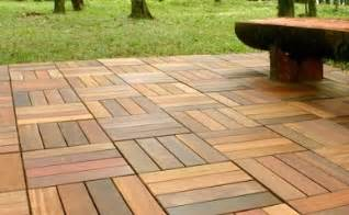patio wood tiles outdoor teak decking landscapers seva call