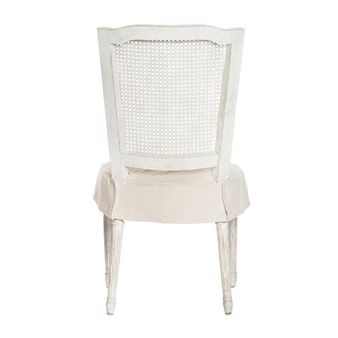 white slipcover dining chair padma s plantation pacific