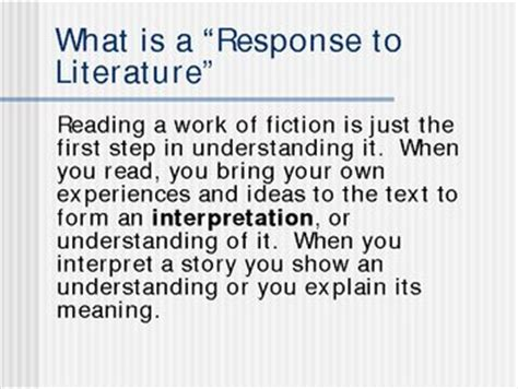 What Is A Response To Literature Essay by 301 Moved Permanently