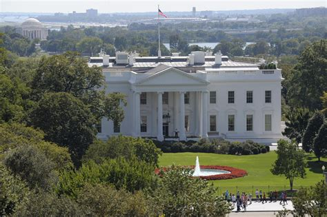 white houses washington with obama caign in high gear life at white house quiet