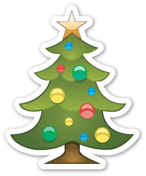 images of christmas emojis christmas tree