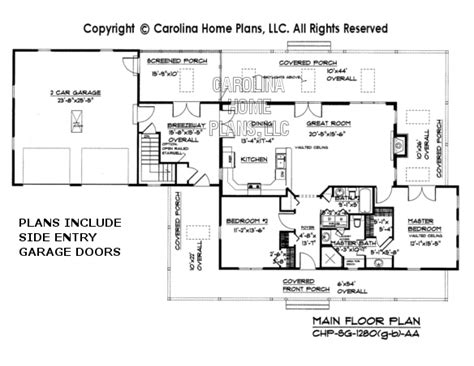 Small Country Cottage House Plan Sg 1280 Aa Sq Ft Small House Plans 1300 Square