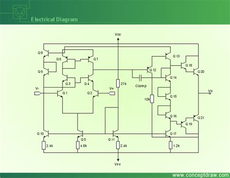 draw electrical diagram conceptdraw sles engineering diagrams