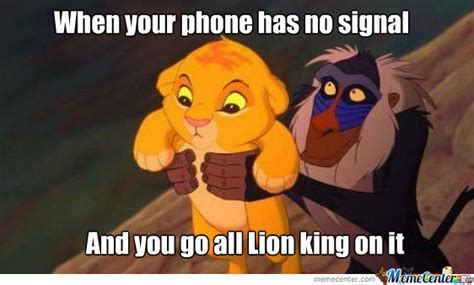 Lion King Cell Phone Meme - lion king cell phone meme 28 images funny lion king