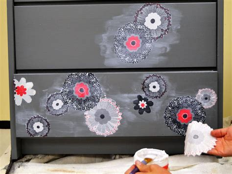 Decoupage Furniture With Fabric - how to update furniture with fabric how tos diy